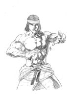 Shang Chi The Master of Kung Fu by JeanSinclairArts
