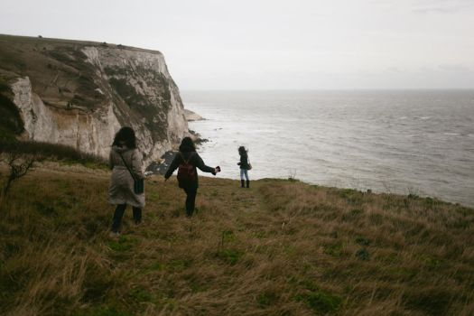 white cliffs of dover by auroille
