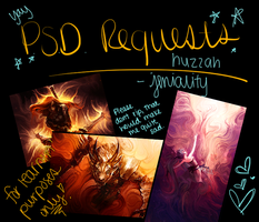 PSD Requests by Jeniality