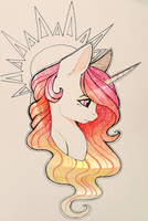 An ol' fashioned Celestihorse by Evehly