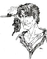 Bruce Campbell by dsketch