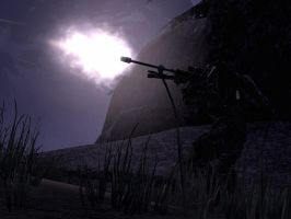 Halo Reach: muzzle flash by purpledragon104