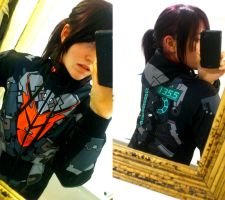 - Dead Space Advanced RIG Hoodie - by sonicwindartist