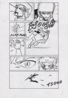 Naruto vs. Link Doujinshi p.9 by FreezingStudio