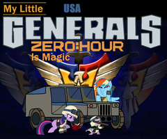 My Little Generals ZeroHour Is Magic USA by ZergRex