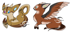 .:Otter Dragon Auction-Closed!:. by FlamesVoices
