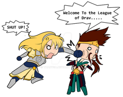 Welcome to the League of Dra.... by Thanysa