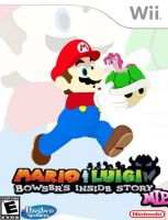 Mario y Luigi Bowser's Inside Story MLP by AndresToons