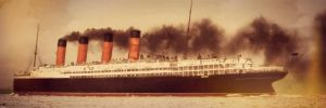 Departure by RMS-OLYMPIC