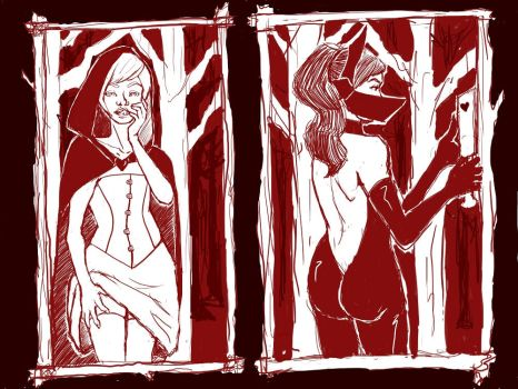Red Ridding Hood by BeatrixMendax