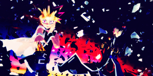[MMD] Yami and Haou by GumiCandy