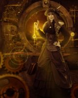 Steamgirl by DenysRoqueDesign