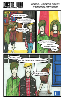 Doctor Who: Rory's Trip - PAGE 4 of 4 - COMPLETE! by LimeyOtoko