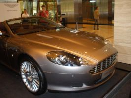 Front View - Aston Martin by abolatinge