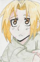 Young Edward Elric by sonic-chic1