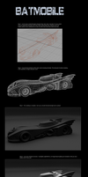 3D Batmobile by Kromlec