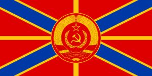 Naval Jack of the Premier of the New USSR (Old) by RedRich1917