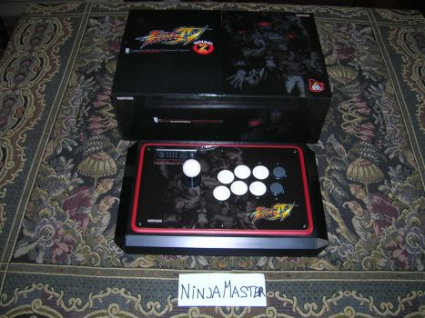 Arcade Stick SF4 Tournament Edition by ninjamaster76
