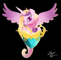 Princess Cadance SWF Pin-up by Ilona-the-Sinister