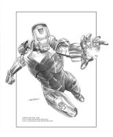 Iron Man Commission by LostonWallace