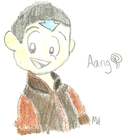 Aang by ravenheart628
