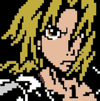 Edward Elric Pixel by joaocouto