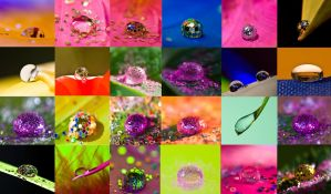 Waterdrop wallpaper by pqphotography