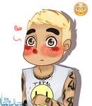 Pete Wentz in 2D by ThePastelHobbit