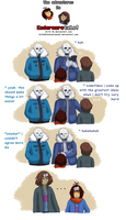 EnderMAREtale (collab) - Label the Frisks by TC-96
