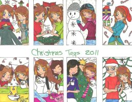 Christmas tags 2011 pt.1 by rumiko18