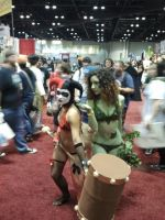 Megacon 2014: Harley Quin X Poison Ivy Cosplay by Oblivion-Evil