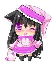 Chibi Neko Adoptable -Sold- by Desiree-U