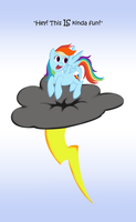 Rainbow On A Thundercloud by Saw-Buck