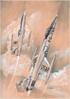 USAF Rocets by oscargraphics