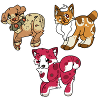 thanksgiving adopts by PineapplesDogs