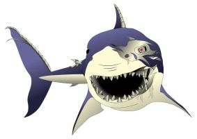 Bio-mechanical Shark by AndreaEdwards