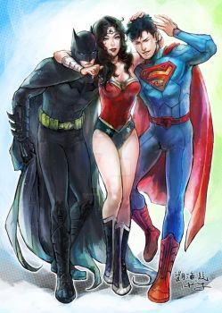 Trinity by Haining-art