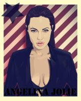 angelina jolie by casual-funky-monkey