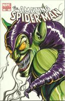 Green Goblin by artstudio
