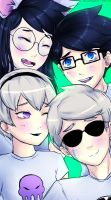 Homestuck - Happy 413 by MelSpontaneus