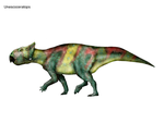 Unescoceratops by cisiopurple