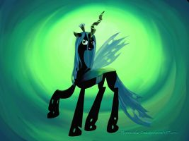 Queen Chrysalis Wallpaper by Flynn-the-cat