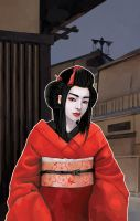 Geisha by o-OopsS