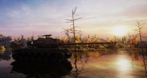 World of Tanks: Thorugh the Sunset by PurplePhantom104
