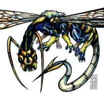 Waspdragon by jbrenthill