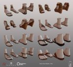 Summer Shoes Collection - Wires by Denuvyer