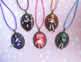 Sailor Moon Outer Senshi Cameos by LittleBreeze