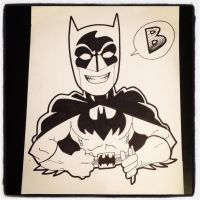 INKtober Day 20 B is for Baman by BigDogsStudio