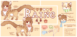 [REF SHEET] Raine by Kitsurie