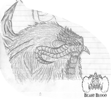 Fan Art - Behemoth by OmegaBearBeast
